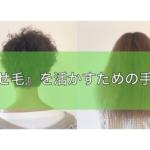 くせ毛の悩みを解決に導くブログ
